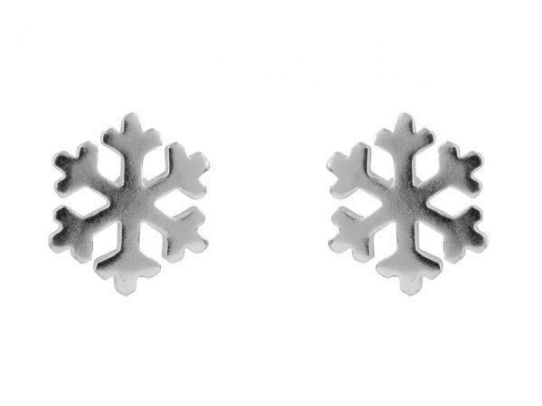 snowflake stud