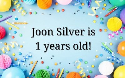 Joon Silver is 1 years old!