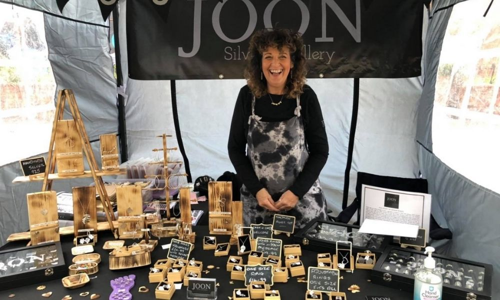 Jo of Joon Silver attending local markets and events